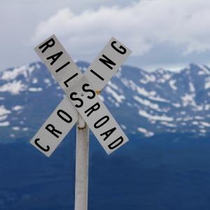railroad crossing leadville