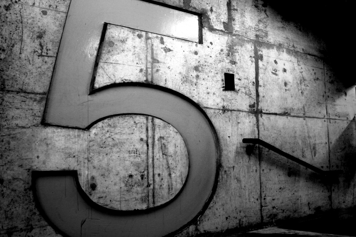 Parking Garage Number