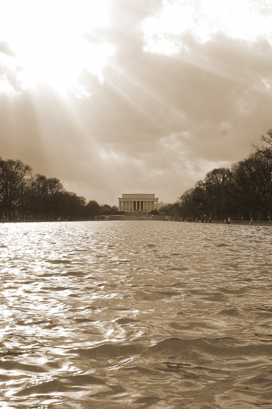 Lincoln Memorial Reflecting Pool
